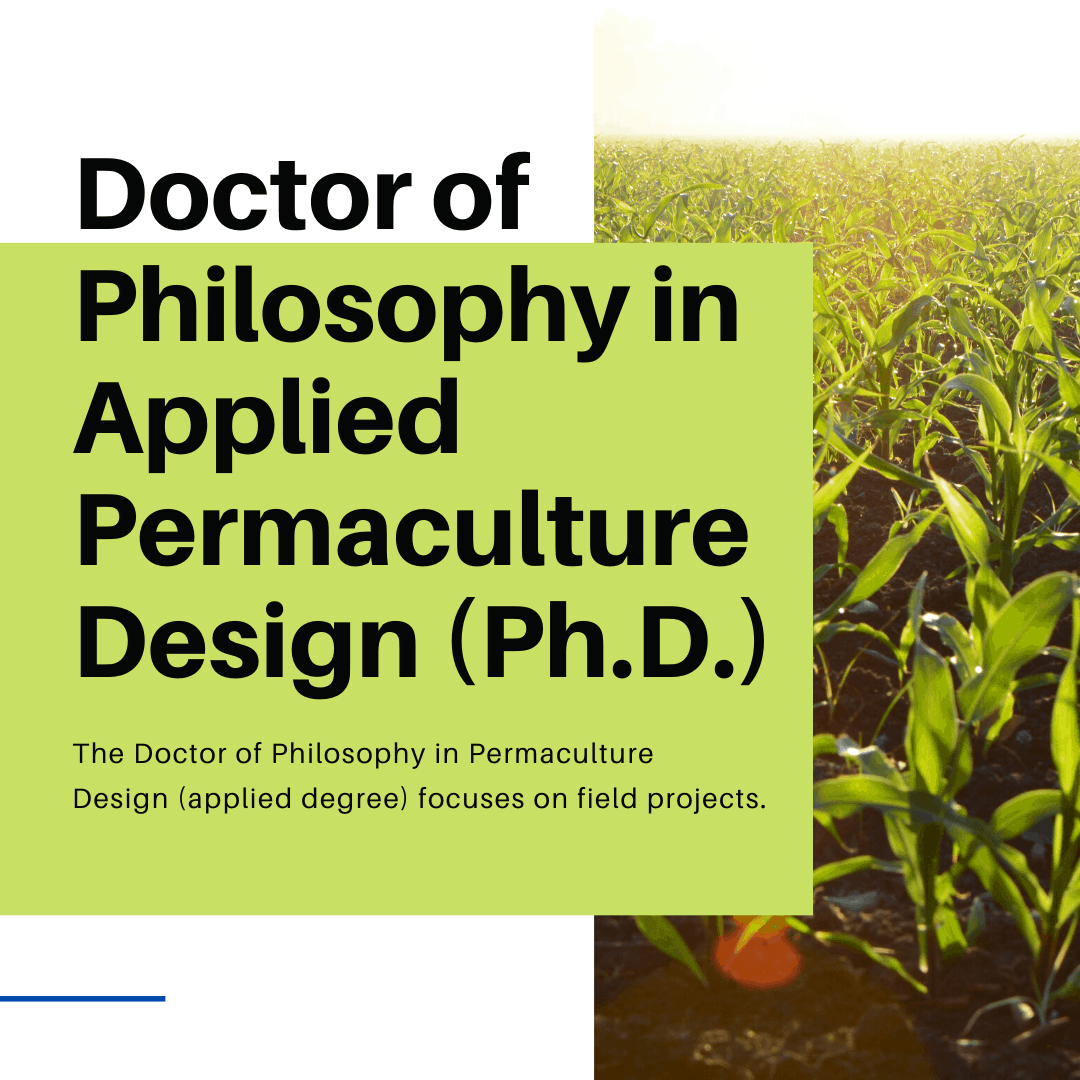 Applied Degree in Permaculture Design