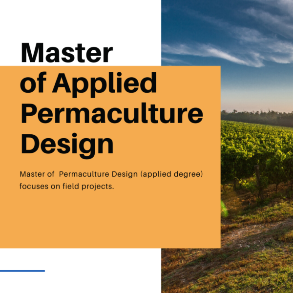 master of applied permaculture design