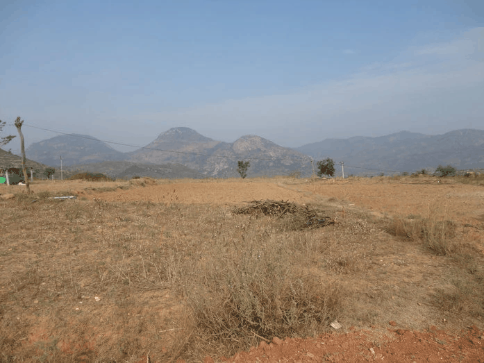 Water scarcity around the project area